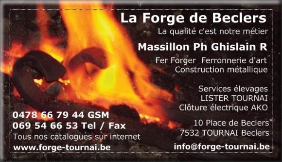 Carte De Visite La Forge Beclers